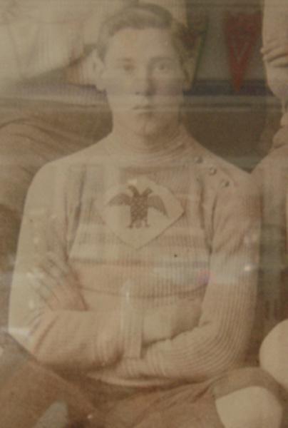 José Martí, jugador del Águilas Football Club