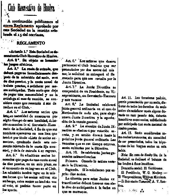 20 de Mayo de 1903. Diario La Provincia