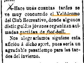 26 de Septiembre de 1899. La Provincia.