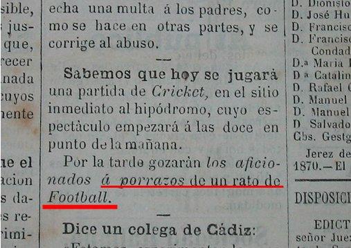 """2 de Noviembre de 1870. Diario """"El Progreso"""". (Jerez de la Frontera)."""