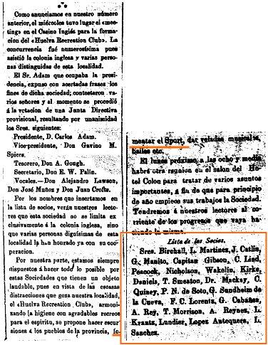 20 de Diciembre de 1889. (La Provincia)
