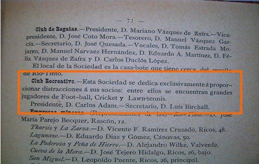 Guía de Huelva. 1891.