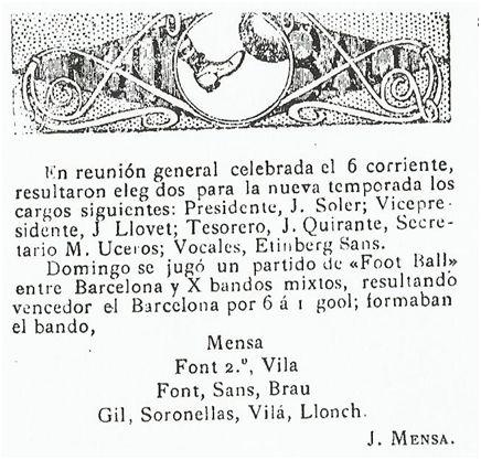 Los Deportes, 14-10-1905, Pág.11.