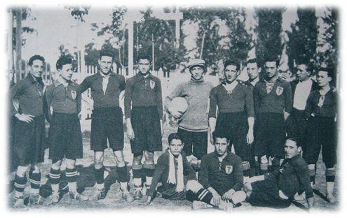 Primer equipo del FC Juventud Republicana, temp. 1923/24.