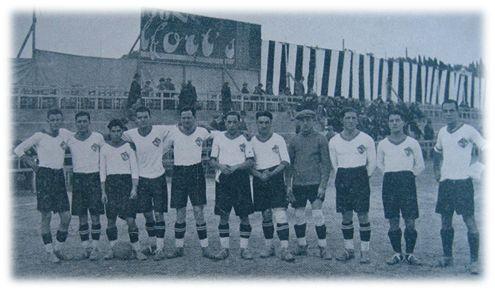 Primer Equipo del FC Lleida temporada 1927/28.