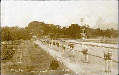 Campo de Marte de San Salvador en los años veinte