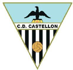 """Emblema del primer C. D. Castellón, el que por un exceso del presidente fundacional habría de  pechar con el molesto remoquete de """"C. D. Puntos""""."""