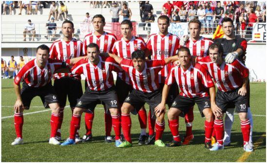 Equipo que ascendió a 2ªB en la temporada 2010-2011. De pie (de izquierda a derecha): F. J. Barbón – Roberto Flores – Fernández (Fer) – Kike – Abel – Gaspar. Agachados: David García – M. Pujades – Julio Huertas – J. A. Ortega (Petete) – J. Mut.