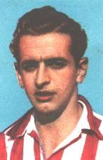 Rafael Escudero, último quijote de nuestro fútbol  y campeón de Copa, con la camiseta del Atlético de Bilbao.