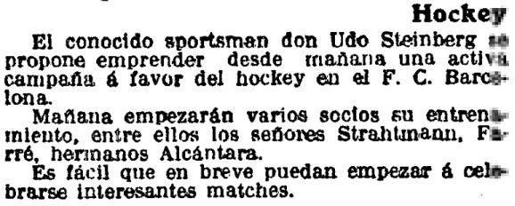 La Vanguardia, 11 de octubre de 1913.
