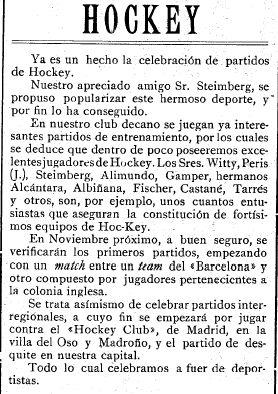 Mundo Deportivo, 23 de octubre de 1913