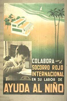 Cartel del Socorro Rojo, organización muy implicada en una expatriación que con frecuencia desembocó en el desarraigo.