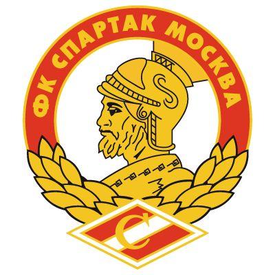 Escudo antiguo del Spartak de Moscú, equipo donde más brillara el buen extremo Sagasti, ilustre desconocido para el aficionado español.