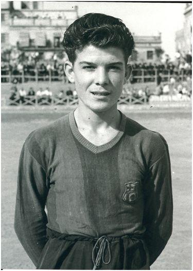 Paco Pitarch en el Barça Aficionados.
