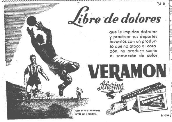 Inserción en prensa durante el invierno 1950-51.