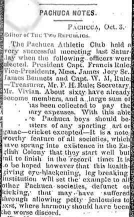 Two Republics del 4 de octubre de 1895