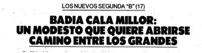 El Mundo Deportivo, 4 septiembre 1987, pág. 23.