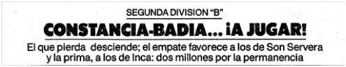 El Mundo Deportivo, 22 mayo 1988, pág. 38.