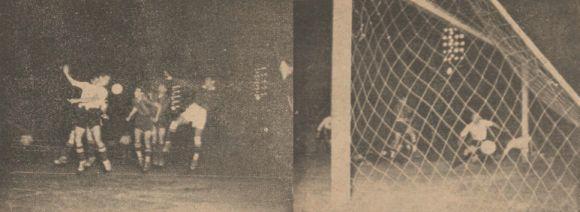Jugada y gol del Primer Partido Nocturno en México         Col. CarlosCalderónC