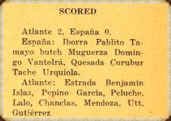 Alineaciones del primer partido nocturno en México.