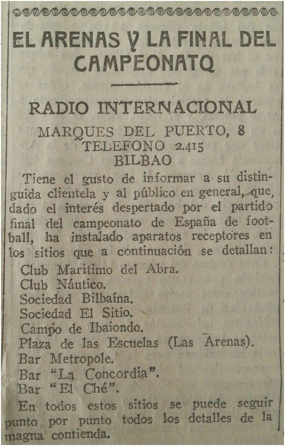 Excelsior, 14 de mayo de 1927