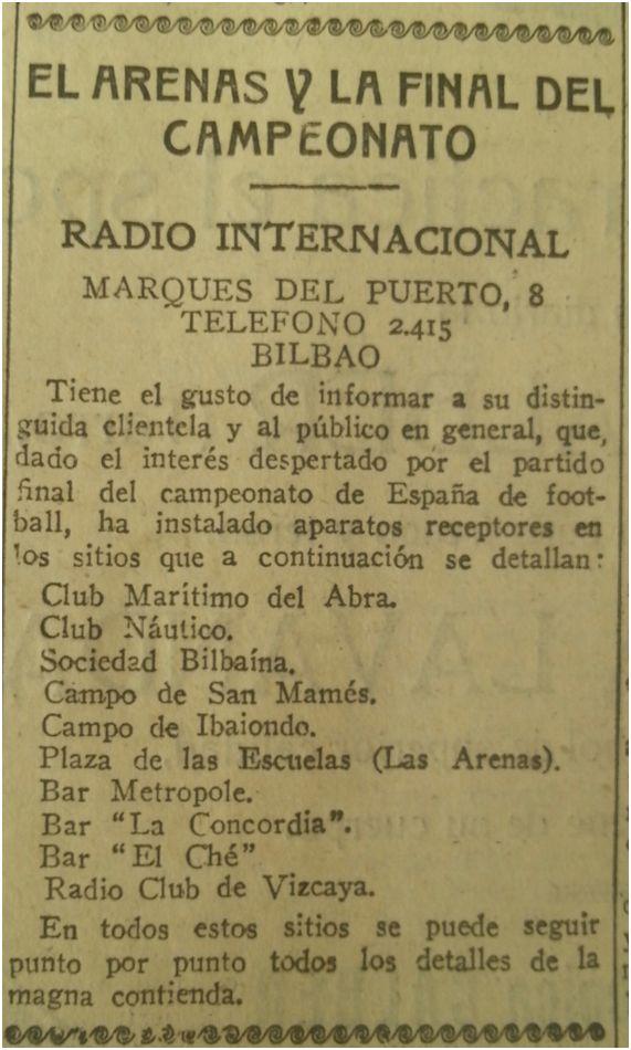 Excelsior, 15 de mayo de 1927
