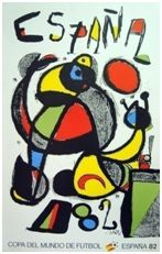 """""""La Fiesta"""" de J. Miró."""