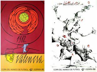 """""""Alegoría"""", de V. Adami y """"Unas tijeras"""", de V. Velickovic."""