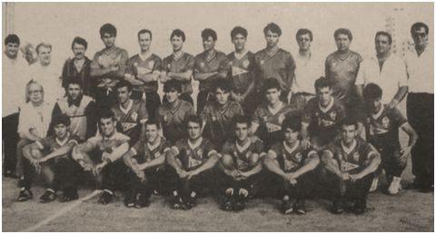 CD Badía Cala Millor de Son Servera. Temporada 1988/89. Segunda División B.