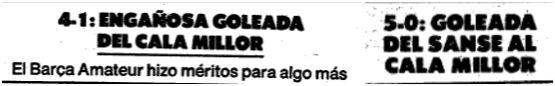 El Mundo Deportivo, 12 junio 1989, pág. 32 y 8 mayo 1989, pág. 29.