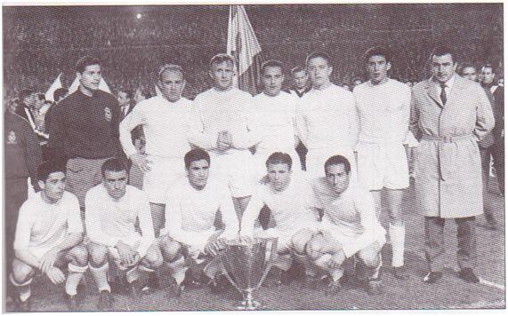 (Real Madrid, campeón de Liga 60-61)