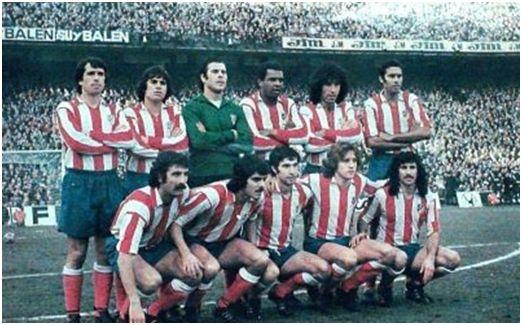 (Atlético de Madrid, campeón de Liga 76-77)