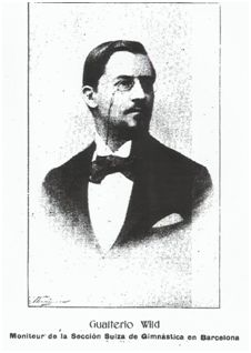 Walter Gustav Wild  (Hottingen, 13 de octubre de 1872), primer Presidente del FCB.