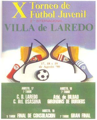 El Torneo Juvenil de Laredo organizado entre otros por Ángel Caballero, se convirtió en todo un referente de dicha categoría.