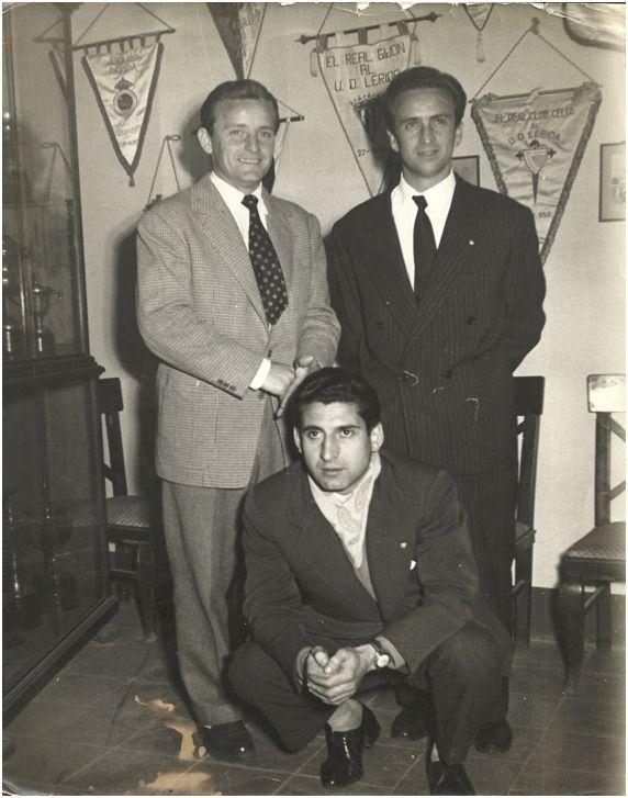 Gonzalvo III, Basora y Moreno el día de su presentación en Lleida.