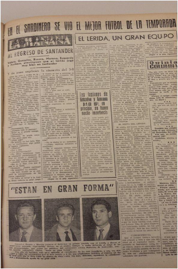 Edición de La Mañana del 3 de enero de 1956.