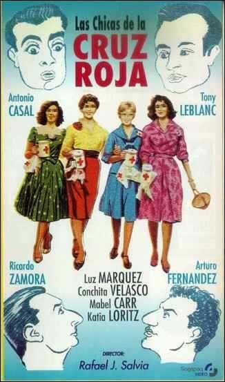 """Los Zamora, padre e hijo, unidos no sólo en su faceta de cancerberos, sino en la cinematográfica. El Ricardo Zamora de """"Las chicas de la Cruz Roja"""" -el vástago- hubiese podido seguir rodando sin decepcionar, según escribieron varios críticos."""