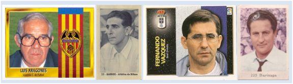 Luis Aragonés, Barrios, Fernando Vázquez y Barinaga han dirigido a 8 equipos diferentes cada uno de ellos