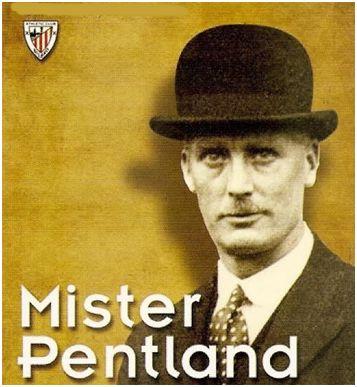 Frederick Beaconsfield Pentland con su típico bombín
