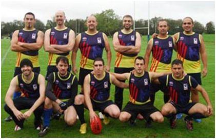 Formación de la selección catalana