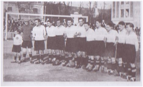 Equipo del Racing de Santander.
