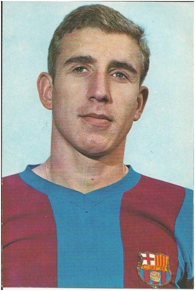 Carles Rexach en sus inicios con el FC Barcelona.