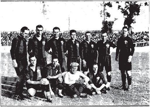 Equipo del Arenas la temporada 1928/29