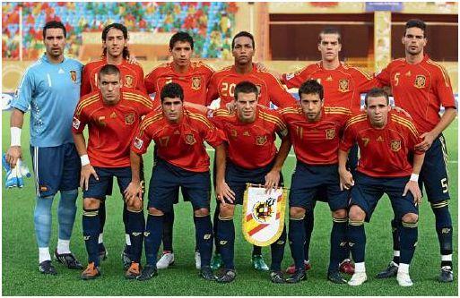 Alineación de España en el Mundial juvenil de Egipto 2009, extraída del Informe Técnico oficial del torneo.