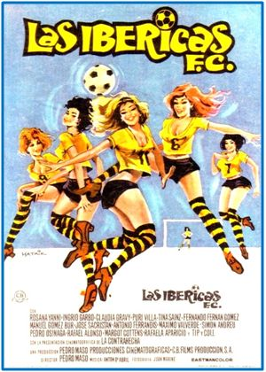 """Flaco favor hizo el film """"Las Ibéricas F. C."""" al balompié femenino español. Su vuelo,  cinematográficamente, también fue pesado y rasante."""