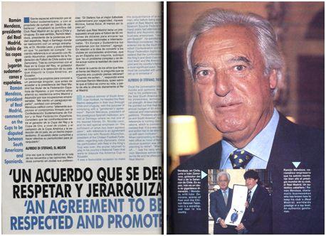 Revista Conmebol nº 32, págs.. 36 y 37