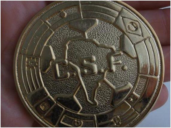 Medalla entregada a los jugadores