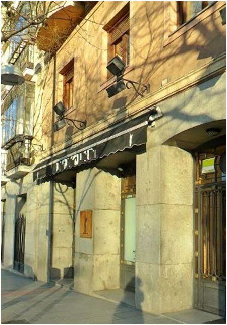 Fuente: M.R.Giménez (2015) Aquí estuvo la Taberna de Félix Pérez. El edificio ha sido totalmente remodelado.