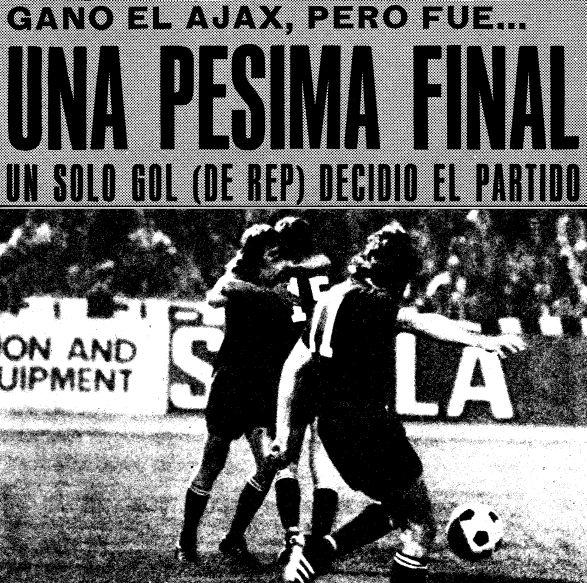 Xviii Copa De Europa 1972 73 Afc Ajax Amsterdam Cuadernos De Fútbol