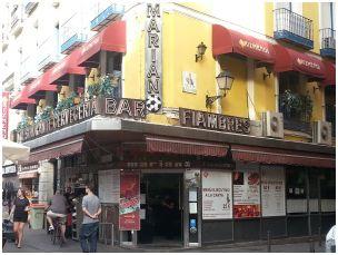Casa Mariano, sede de la Peña (foto del autor)